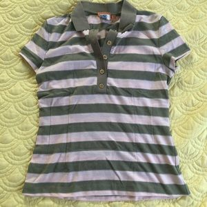 Tory Burch striped polo